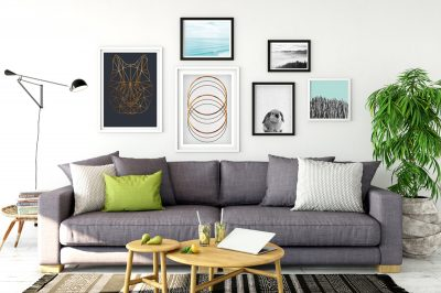 Livingroom gallery wall, wall art prints