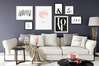 Valentines Day - Love - Gallery Wall